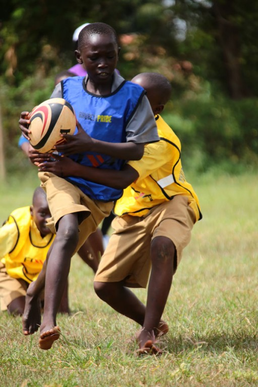 Jinja rugby tournament day
