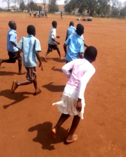 Davis Banda rugby coaching sessions in Lilongwe, Malawi
