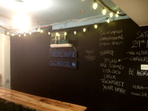 Escape the City's increasingly popular 'Escape School' evening