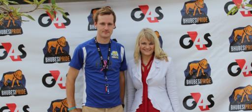 Oliver Munns and Elanie Kruger