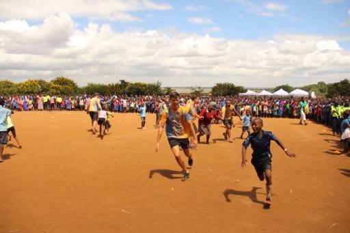 Volunteer coaches (Pride members) have been visiting schools in Lilongwe since 2012