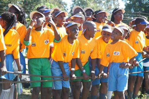 BPF Kabwe community coaching with G4S Zambia