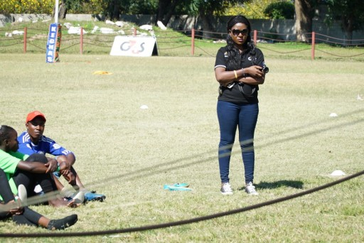 Pride coaching week in Kabwe with G4S Zambia