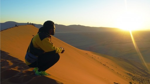 Breathtaking views as the Pride drive from Namibia to SA
