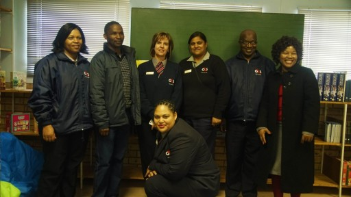 BPF community coaching week in Bloemfontein with G4S South Africa