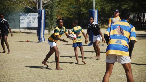 Tournament day in Maun with the Pride