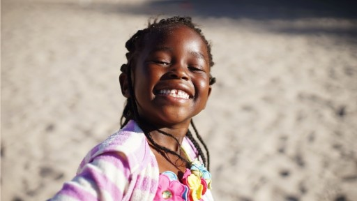 All smiles in Botswana