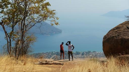 Relaxing on Lake Malawi
