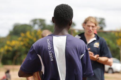 BPF's community rugby program in Lilongwe with G4S Malawi