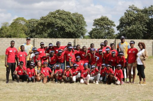 The Pride coaches in Kabwe with G4S Zambia