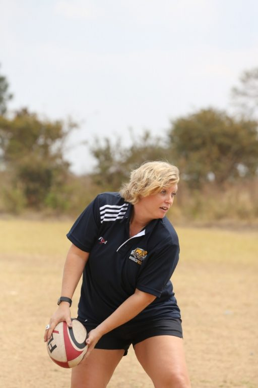 Lilongwe coaching program with the Pride